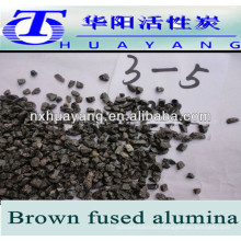 brown fused alumina for steel grit,sand blasting