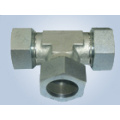 Metric Thread Bite Type Tube Fittings Replace Parker Fittings and Eaton Fittings (EQUAL TEES)