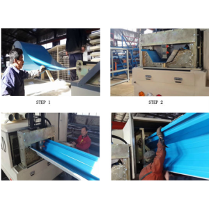 Color Large Span Roofing Making Machine