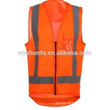 ENISO20471 chaleco reflectante de seguridad de alta visibilidad