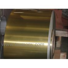 Folha de alumínio revestida hidrófila Folha de alumínio extra grossa de 0,2 mm para ar condicionado