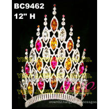 colored tiara and crown for sale