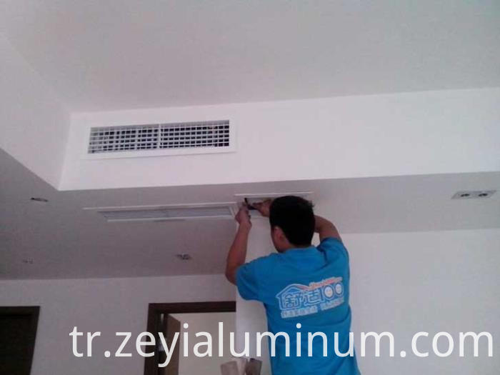 Aluminum Profile For Air Conditioning Tuyere
