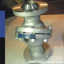 Литой стальной Wcb / Lcb / Wc6 / Ss304 / Ss316 Обратный клапан с откидной крышкой с концами Bw