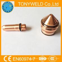 Para 260A 220439 consumibles de plasma piezas de antorcha