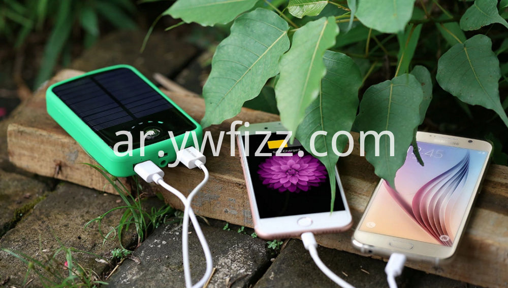 High-capacity hot-selling solar charging treasure