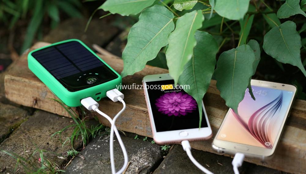 High-capacity hot-selling solar charging treasure