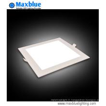 15W 200X200mm Square Residential Encastrement LED Panel Light