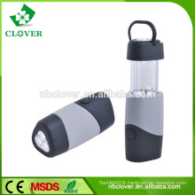 Camping equipment 4 led lamp telescopic mini led camping lantern