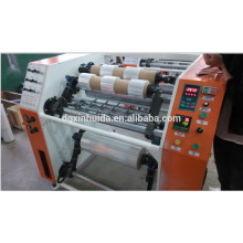 Máquina de rebobinado de corte de película de plástico