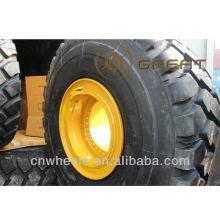 Enorme borde de rueda de ingeniería OTR (tamaño de la rueda de 8 pulgadas a 63 pulgadas)