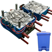 customized service household molding making precision plastic injection mould manufacture trash bin mold