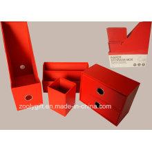 Multi-função 4in1 papel de armazenamento de papelaria organizador caixa