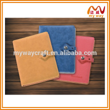 2015 top quality cheap custom leather notebook, new products on china market