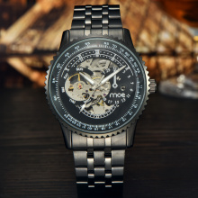 oem all stainless steel water proof automatic watch
