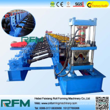 High Speed Highway Guardrail Roll Form Equipment Purlin Stamping Machine