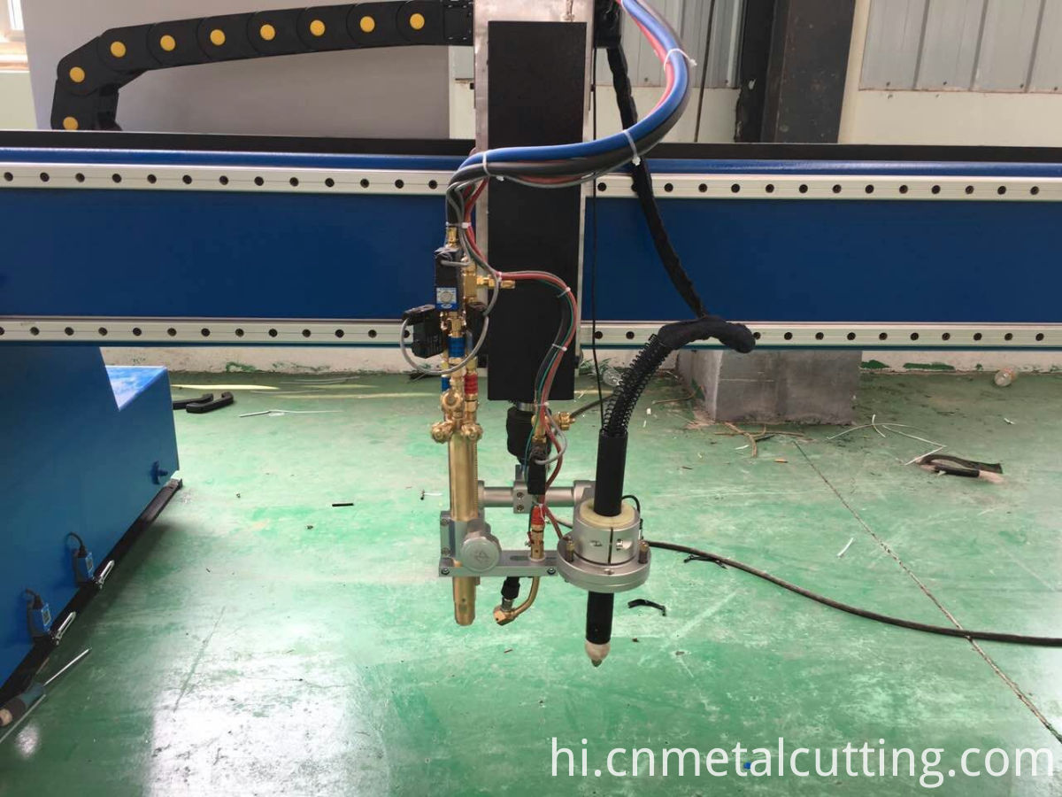 gantry flame plasma cutting machine