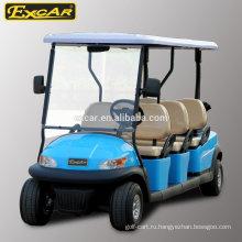 EXCAR 6 мест электрический Гольф-кары дешевый клуб автомобиль гольф-кары электрический багги