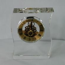 Nuevo Crystal Shape Frame Reloj Artesanía