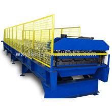 YD-0018 Passé CE & ISO Rouleau de panneau de toit en acier formant la machine avec la commande de PLC