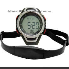 Reloj de monitor de ritmo cardíaco a prueba de agua 3ATM