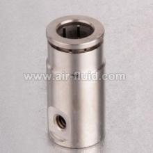 "H.P 1/4"" Slip Lock Fittings 10-24unc Nickel Plated Brass"