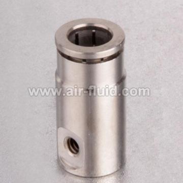 """H.P 1/4 """"Slip Lock Nickel de 10-24unc de raccords laiton chromé"""