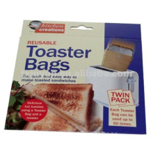 Bolsa de sándwich de tostadora de PTFE