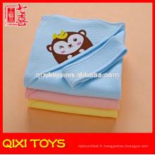 Couvertures de bébé faites à la main superbes de polyester de 100% à vendre