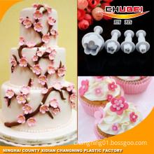 4pcs Cake Decration Tool Set By Catalina Fondant Cake Cutter Mold Sugarcraft Icing Decorating Flower Modelling Tools