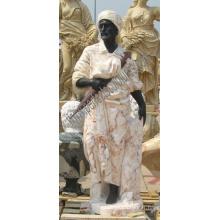 Sculpture en pierre de marbre en pierre pour décoration de jardin (SY-C1307)