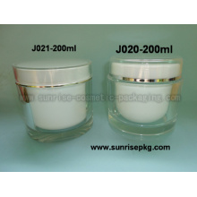 Round Shape Cream Jar J020A J021A-200ml