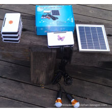 Solar Power Supply Home LED Lighting System with PCB Control