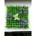 Китай поставщик искусственная трава газон с цветок