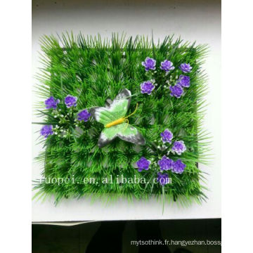 fournisseur de porcelaine gazon artificiel avec fleur