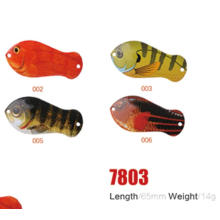 Оптовая 65мм 14 г Рыбалка ложка приманки