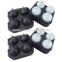 Пользовательские силиконовые льда мяч плесени прочный силиконовый лед мяч плесень производитель