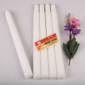75g Congo white fulted candle with craft paper