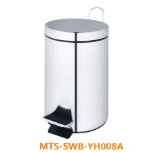8-Liter Stainless Steel Trash Can/ Waste Bin/ Dustbin (MTS-SWB-YH008A)