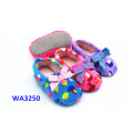 Kids' Soft Terry Suede Sole Home Slippers