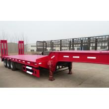 Tri-Axle Lowbed Trailer for Excavator Transportation, Lowbed Semi Trailer