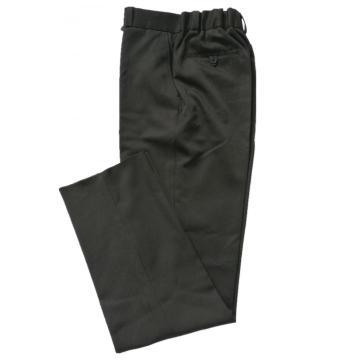 Pantalon en polyester avec pantalon de costume à bande élastique au dos