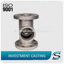 SS316 stainless steel investment casting valve fitting