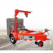 EAGER Trailer and Self-propelled Blue Flame Recycling Hea