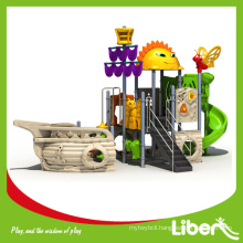GS Approval China Outdoor Playground Type Pirate Ship Series Amusement Playground Equipment for Kids LE.HC.006