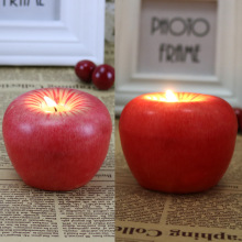 Imagen Fruit Apple Candle