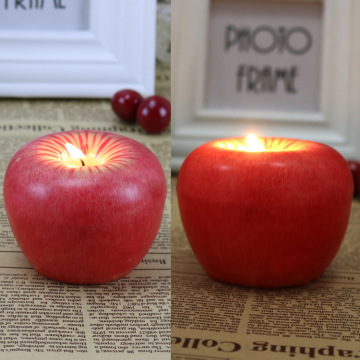 Afbeelding Fruit Apple Candle