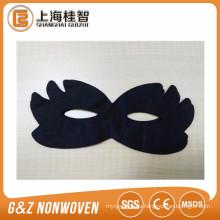 máscara de ojo no tejida negro máscara de ojo cosmética color negro