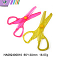 All plastic safety scissors for children and students
