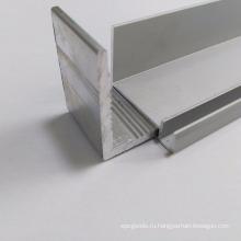6063 T5 anodised solar panel aluminum frame extrusions